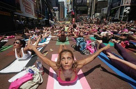 Йога в Нью-Йорке