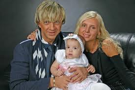 Роман Жуков с дочерью