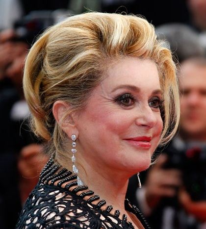Catherine Deneuve was a special guest of the MIFF
