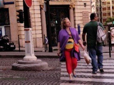Светлана прогуливается по Парижу