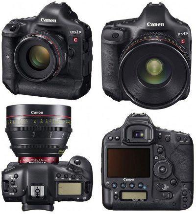 Canon создал фотокамеру, позволяющую снимать телефильмы