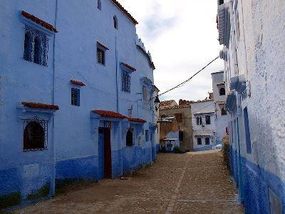 Шефшауен - гордость Марокко