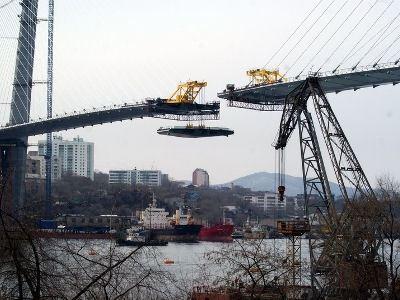 Мост будет построен к саммиту АТЭС