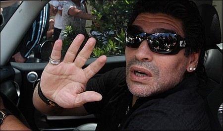 Легендарный Марадона был признан лучшим футболистом планеты