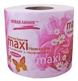 «Макси-нежность» – бумага из натуральной целлюлозы