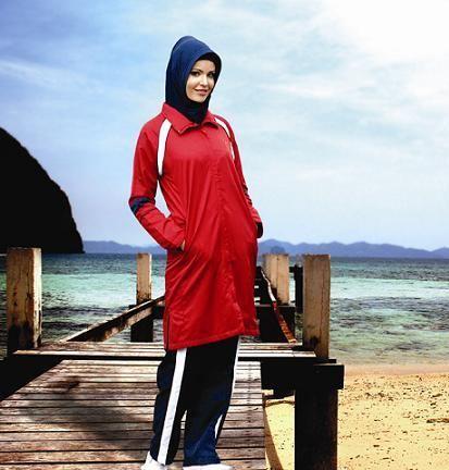 Спортивный хиджаб Фатимы Рафий