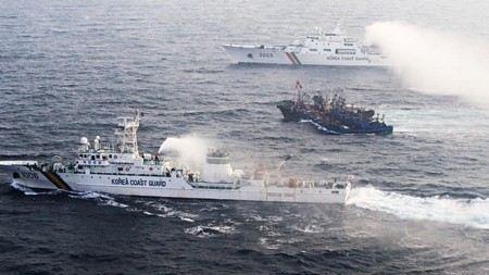 Преследование китайских браконьеров в Японском море продолжалось 3 часа