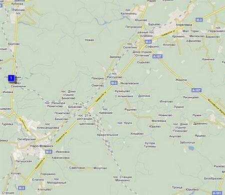 Автомобиль пропавшего главы района Раменки Александра Дмитриева обнаружили недалеко от Рассудово