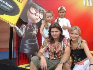 Д. Маликов с семьей