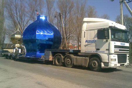 Транспортировка негабаритных по размеру грузов - самая сложная задача для грузоперевозчика
