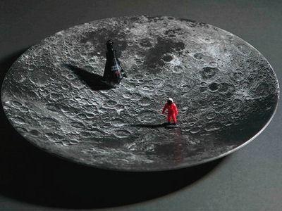Тарелка-Луна
