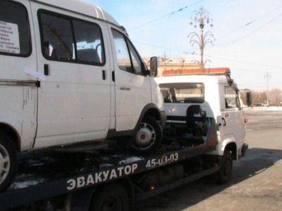 Нелегальные маршрутные такси предлагают эвакуировать