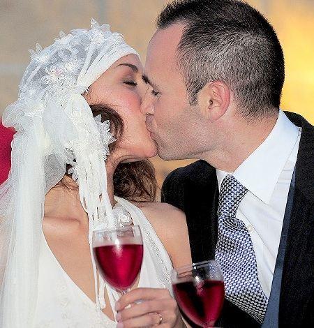 Свадьба Андреса Иньесты и Анны Ортис