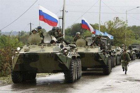 войска российской армии покидают территории Сирии