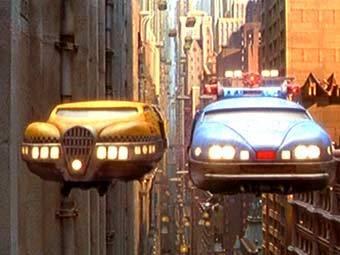 «Умное» такси из фильма «Пятый Элемент»