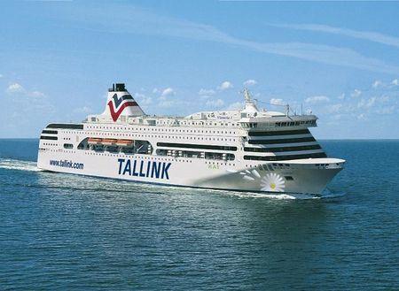 На таких кораблях плавают из Петербурга в Таллин