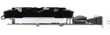 Radeon HD 7750 iCooler вид с боку