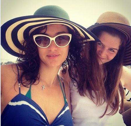 Новая фото Тины Канделаки и её дочки