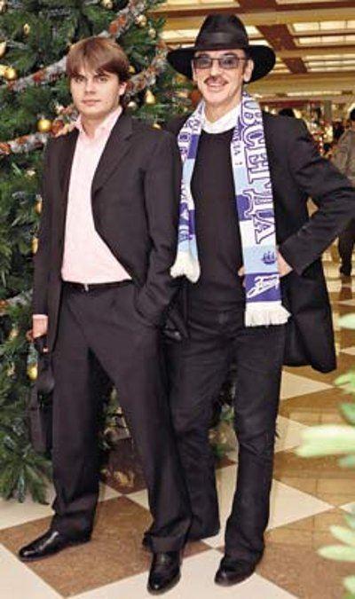 Сергей Боярский вместе с отцом Михаилом Боярским