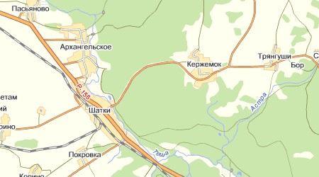 В Шатковском районе Нижегородской области грузовик врезался в автомобиль «скорой помощи»