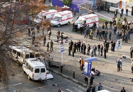 Из-за сообщения о заложенной бомбе эвакуированы все рынки Владикавказа