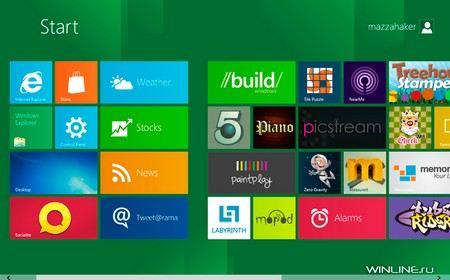 В Интернете уже можно скачать Windows 8