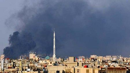 В здании государственной телерадиокорпорации в Сирии взорвалась бомба