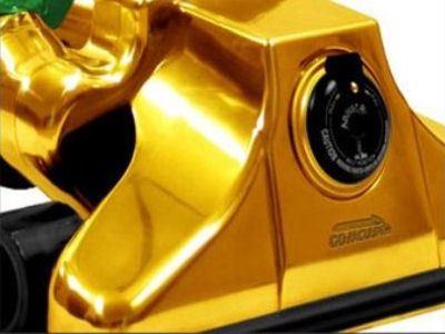 Золотой корпус пылесоса