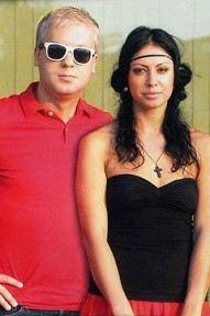 Сергей Светлаков с Анастасией