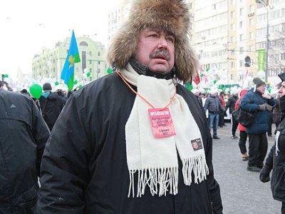 Гудков на митинге оппозиции