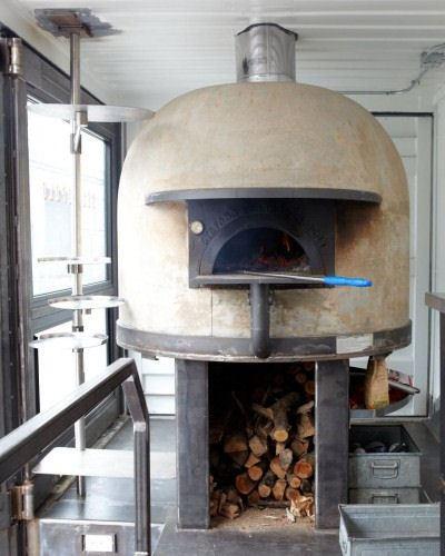 Неапольская печка для пиццы