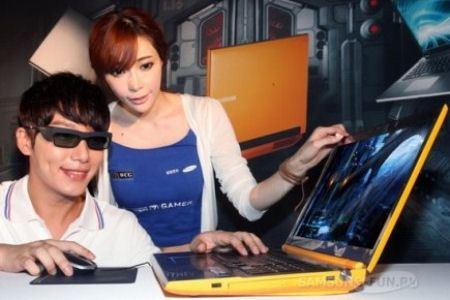 Ноутбук Series 7 Gamer Yellow 3D для игроманов