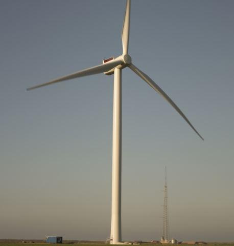 Модель ветряной электростанции