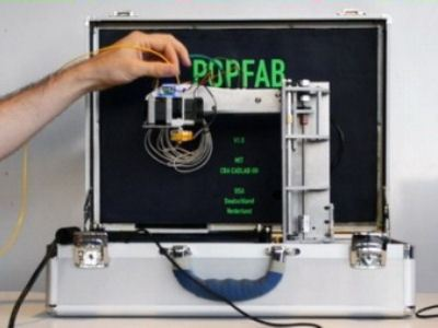 Новый портативный 3D-принтер умещается в чемодане