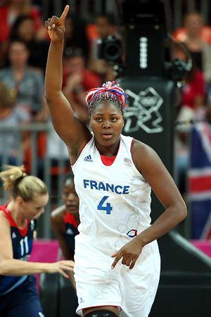 Баскетболистка сборной Франции Изабель Якубу