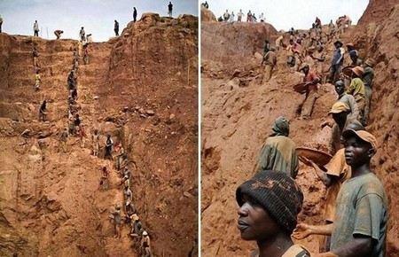 В республике Конго обрушилась кровля нелегальной шахты. Под завалами погибли более 60 человек