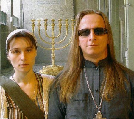 Иван Охлобыстин с супругой