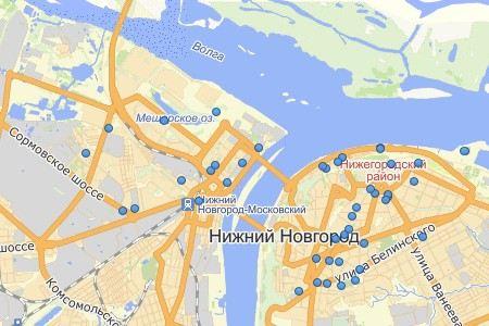 В Нижнем Новгороде во время покрасочных работ с метромоста в Оку упала строительная телега с рабочими. Поиски продолжаются