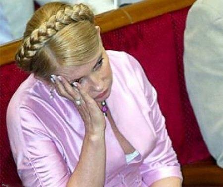 Юлия Тимошенко не может самостоятельно передвигаться даже после курса лечения