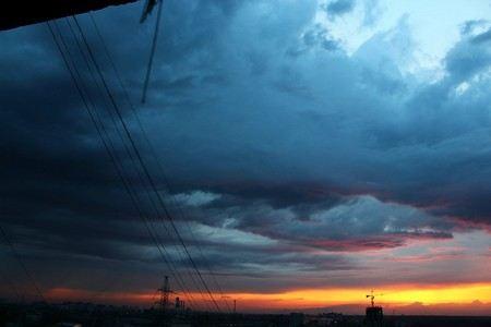 В Москве и Подмосковье ожидается резкое ухудшение погоды