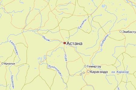 В окрестностях Астаны потерпел крушение военный вертолет