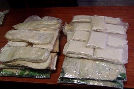 В Подмосковье сотрудники Госнаркоконтроля изъяли крупную партию наркотиков. У преступников в Бронницах было изъято 200 героина.