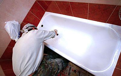 Новая жизнь ванны после реставрации