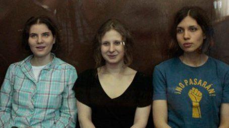 Участницам Pussy Riot дали по два года заключения
