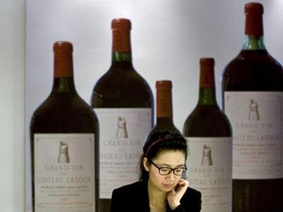 Французское вино ценится в КНР