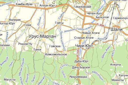 В Грозненском районе Чечни в обрыв сорвался «Урал» с полицейскими из России.