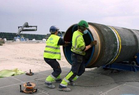 Завершено строительство второй нитки Северного Потока