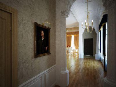Аристократический дизайн в небольшой квартире
