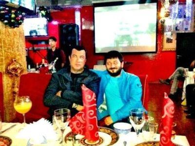 Михаил Галустян и Стивен Сигал