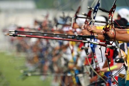 Сегодня российские лучники завоевали золото, серебро и бронзу в соревнованиях по стрельбе из лука на Параолимпийских играх в Лондоне
